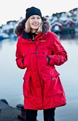 Didriksons Taylor Red Women S Parka My Style Womens
