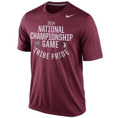 Nike Florida State Seminoles (FSU) 2014 BCS National Championship Game Bound T-Shirt - Garnet -