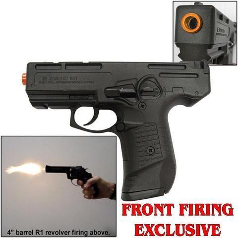 M925 Black - 9mm Full Auto Machine Pistol Front Firing Blank