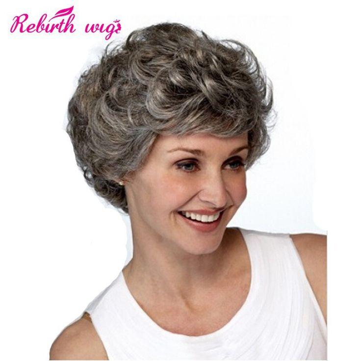 Dama de pelo gris sexy