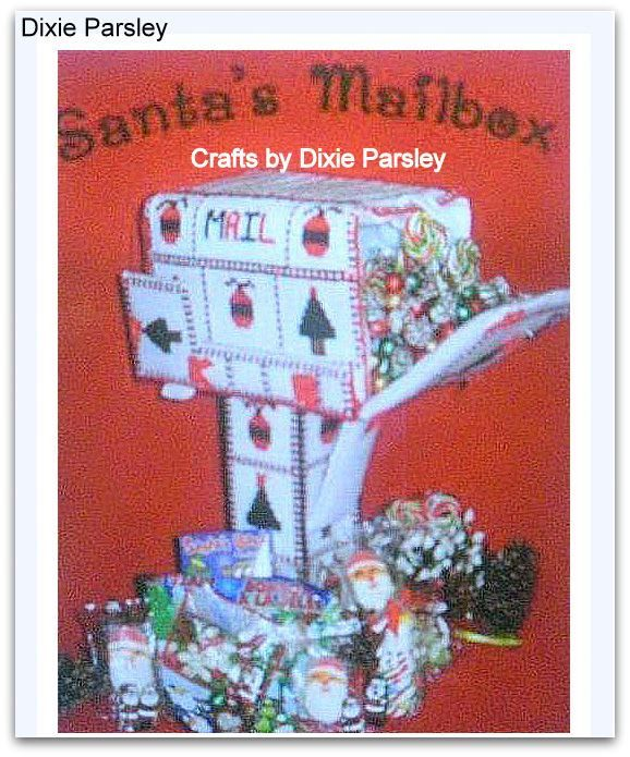 Plastic canvas mail box  to find me on fb  type Dixie Parsley