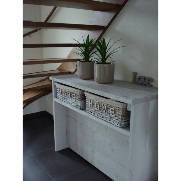 Haltafel Steigerhout DIY Pinterest