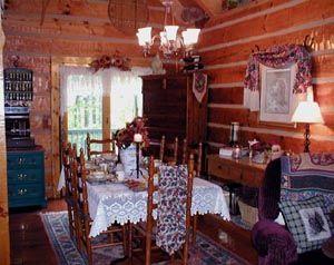 Old Log Cabin Dining Room. Asheville ...