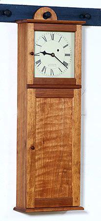 Shaker clock - Christian Becksvoort