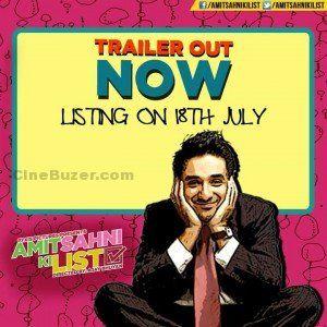 """Amit Sahni Ki List"" Official Trailer in HD Ft. Vir Das & Vega Tamotia"