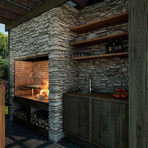 M s de 25 ideas incre bles sobre revestimiento de piedra for Ladrillos para piletas