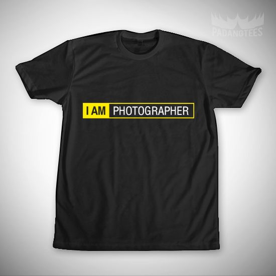 I am photographer dari tees.co.id oleh Padang Tees