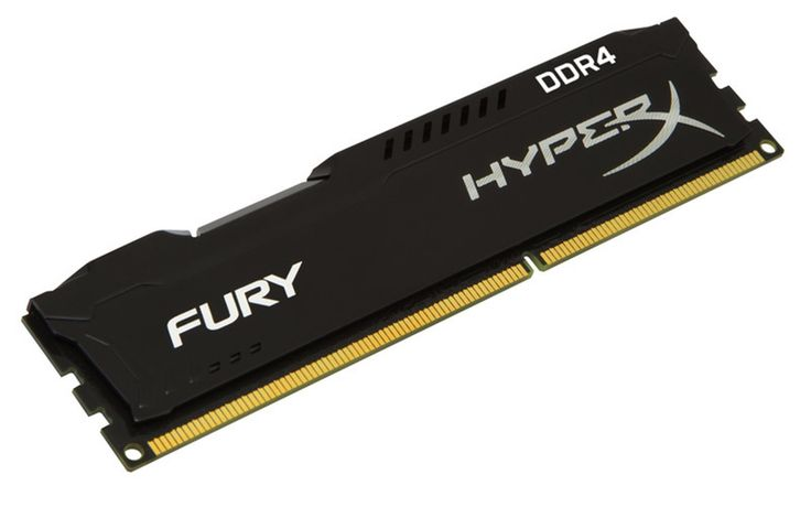 Kingston HyperX Fury 4GB 2133MHz DDR4 CL14, černý chladič