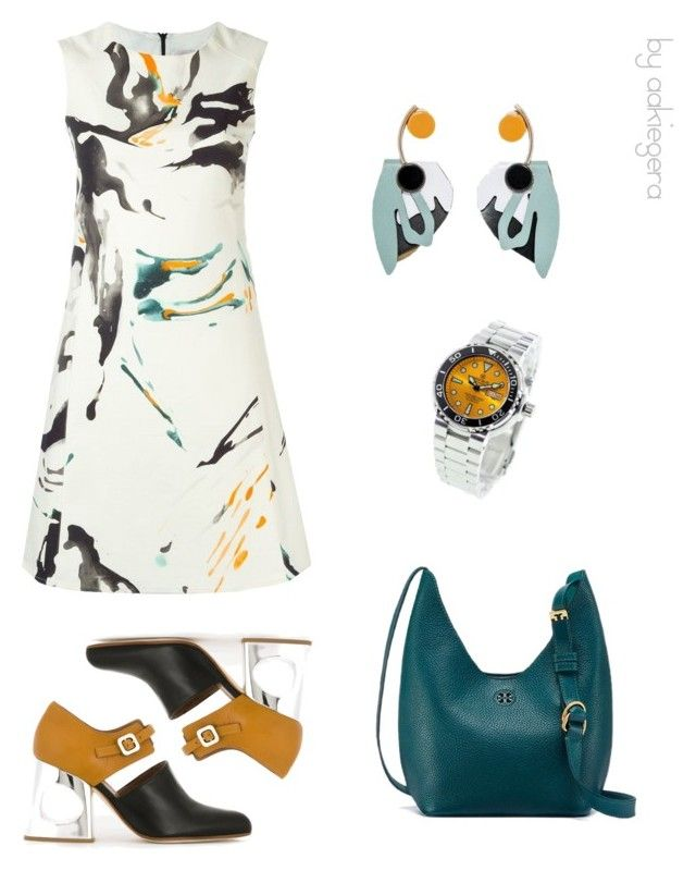 """""""Draw me;)"""" by aakiegera on Polyvore featuring мода, Marni, Eggs, Deep Blue и Tory Burch"""