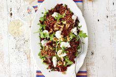 Prima salade voor een balansdag: zonder vlees en met lekker veel groente. En in 10 minuten klaar! - Recept - Allerhande