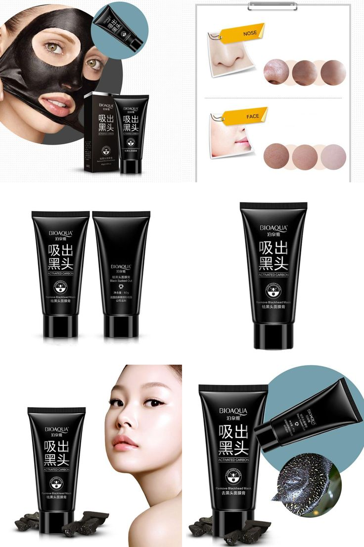 [Visit to Buy] 2017 New Black Mask Facial Mask Nose Blackhead Remover Peeling Peel Off Black Head Acne Treatments Face Care Suction YC36 #Advertisement