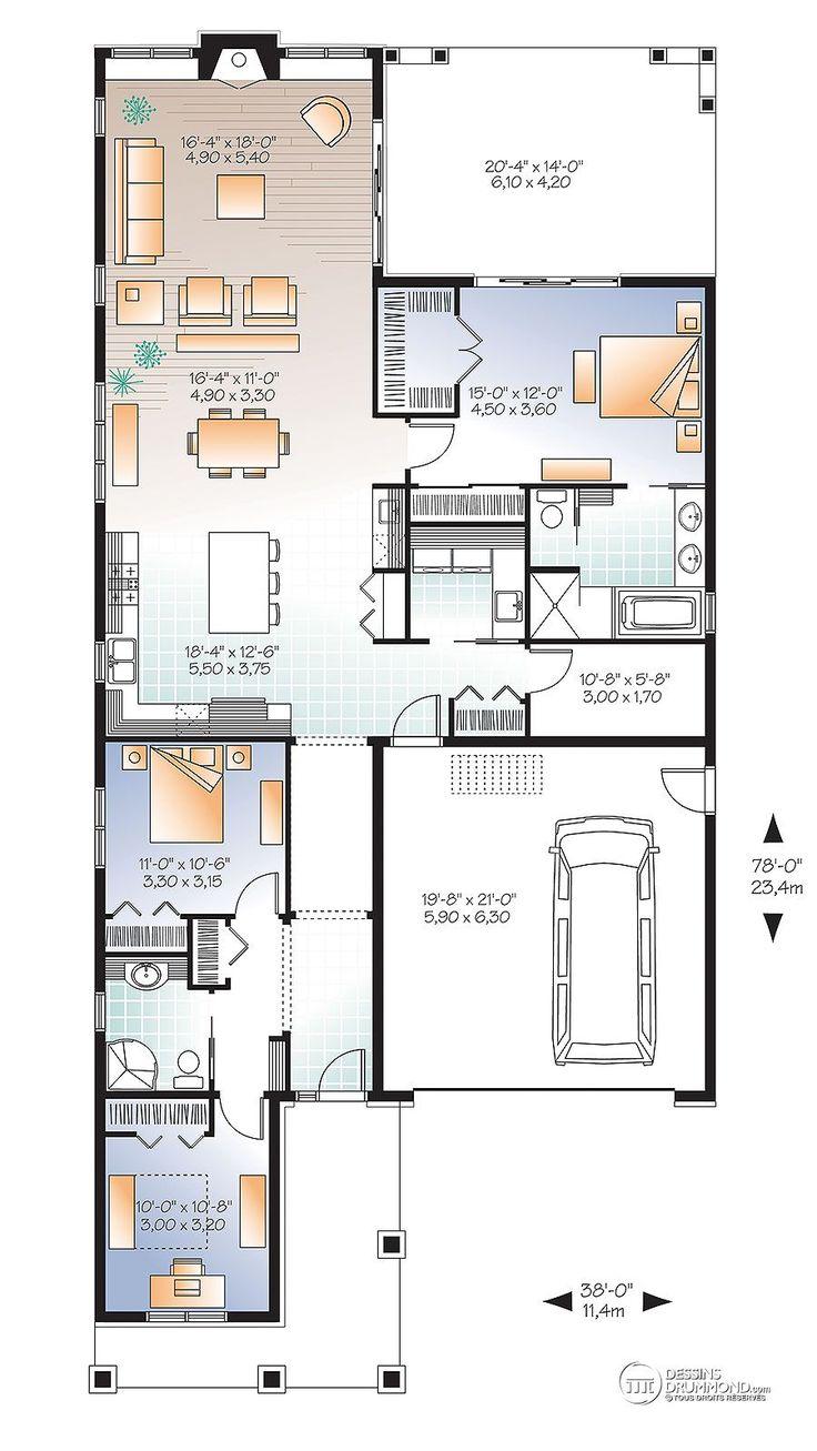 Best 25 plan de maison drummond ideas on pinterest design dintérieur urbain décorer salle de jeux and salle de jeux vintage