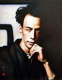 """Ryūnosuke Akutagawa 芥川 龍之介 (1892 – 1927) was a Japanese writer active in the Taishō period in Japan. He is regarded as the """"Father of the Japanese short story"""" and Japan's premier literary award, the Akutagawa Prize, is named after him. He committed suicide at age of 35 through an overdose of barbital. """"Isn't there someone kind enough to come strangle me in my sleep?"""" - AKUTAGAWA Ryunosuke"""