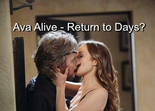 Days Of Our Lives Spoilers: Ava Vitali Not Dead, Tamara Braun Teases DOOL Return – Faked Death?