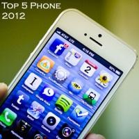 5 Ponsel Favorit Tahun 2012