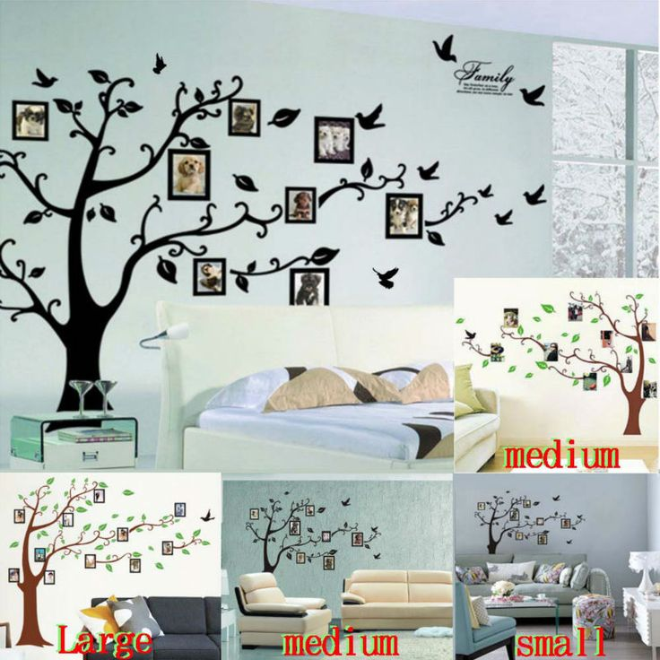 Cheap tree wall sticker, Buy Quality sticker tape directly from China sticker apple Suppliers: photo tree frame family forever memory tree wall decal decorative adesivo de parede removable pvc wall sticker diy zooyo