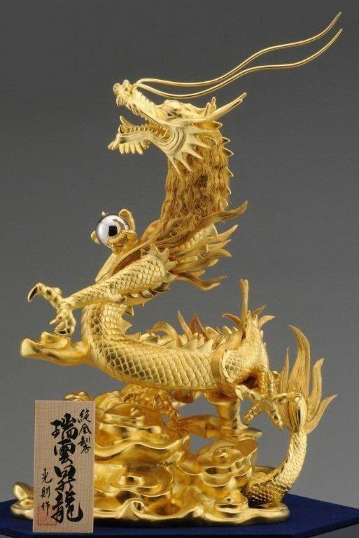純金の登り龍!パワーアップ! の画像 ラッキーママのブログ