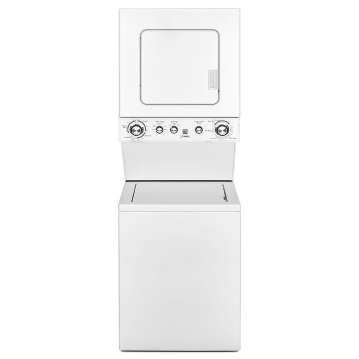 Kenmore 81422 Electric Laundry Center - Skip The Laundromat And Give Your Clothes A Customized Clean