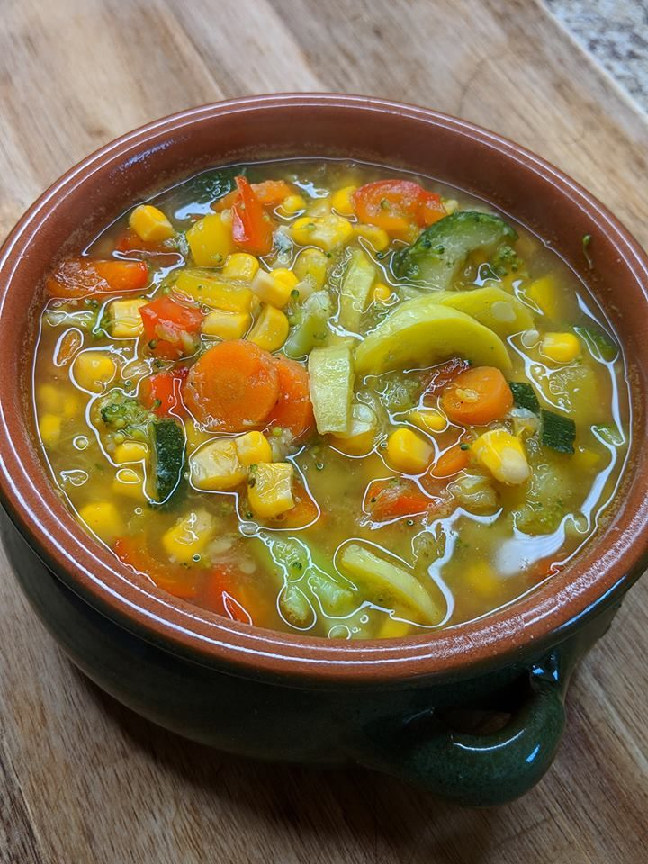 weight watcher vegetable soup