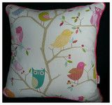 Harlequin Large Cushion: What A Hoot