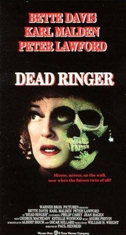 Dead Ringer (1964) USA Warner Thriller. D: Paul Henreid. Bette Davis, Karl Malden, Peter Lawford. 12/11/02