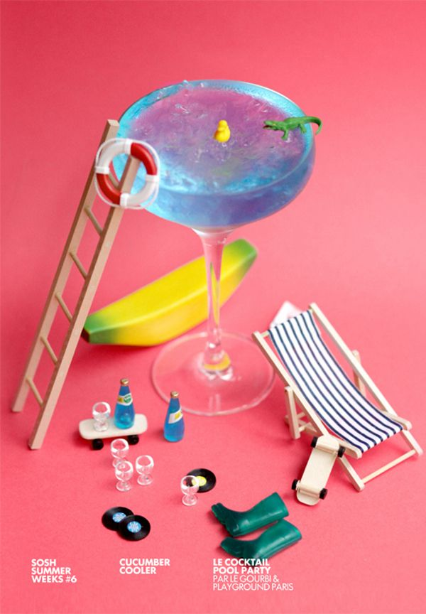 Playground Paris - Sosh Cocktails