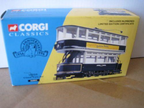 Corgi Classics Closed Top Tram Leeds 36802 Limited Edition | eBay