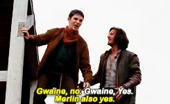 This is an accurate summary of Gwaine and Merlin's relationship.