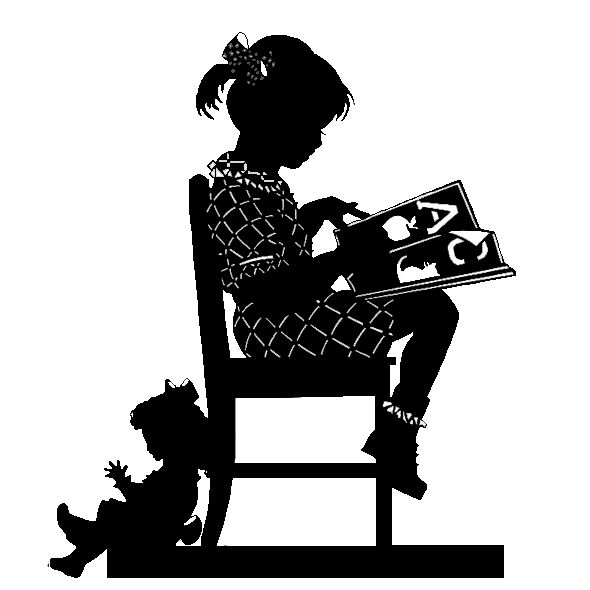Colorel-ressources: Weekly tube:silhouette girl
