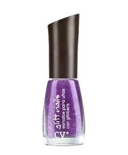 Cyº glitt nails de Cyzone - Más glitter por favor! (Tono Amatista Glitt) #PrimerasVecesByCyzone