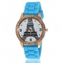ZhouLianFa Fashion Diamond Women Dress Watches Luxury Brand Silicone Strap Ladies Quartz-Watch Women Wristwatches