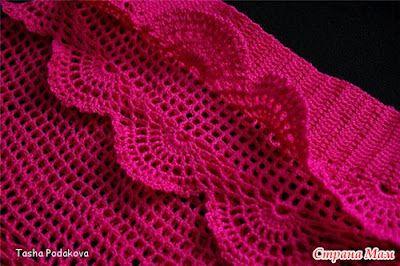 Saia de crochê infantil - Tricotando com a Carla: Junho 2012