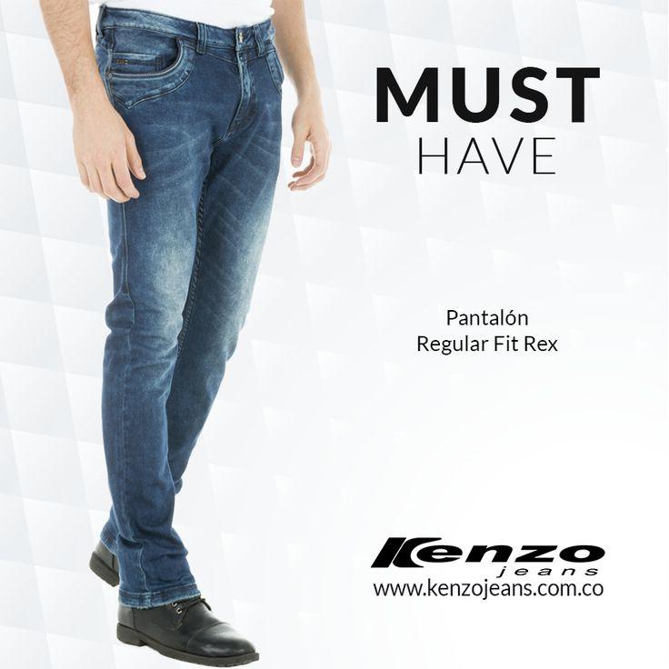 Los jeans prenda versátil y moderna, un básico en el guardarropa masculino son sinónimo de confort y de libertad. #KenzoJeansaUnClic más en www.kenzojeans.com.co