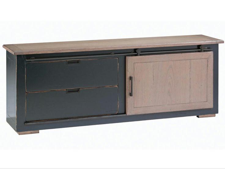meuble tv en ch ne maxime collection nouveaux classiques. Black Bedroom Furniture Sets. Home Design Ideas