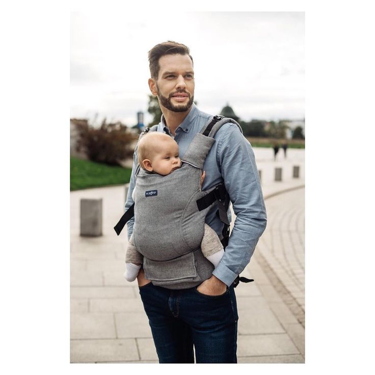Baby carrier Zaffiro Embrace Melange Grey