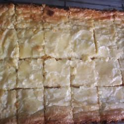 Southern Chess Squares Allrecipes.com - love this dessert! Ive made it alot and everyone always loves it :)