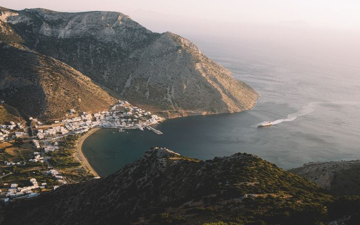 The Port of Sifnos | Photographer Stephanie Bassos' favorite Greek isle is Sifnos. These photos show exactly why.