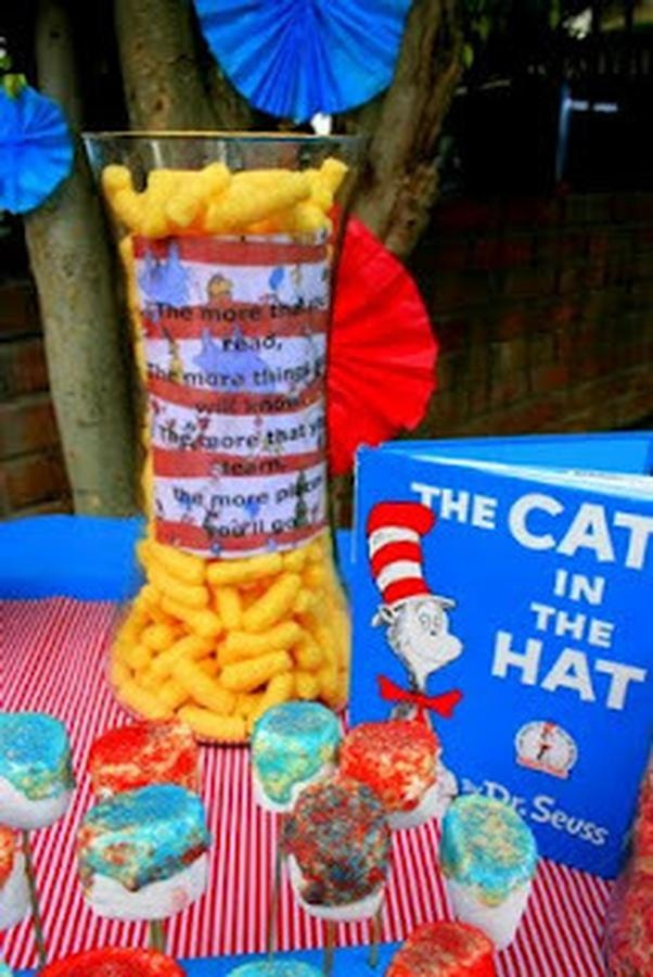 cat in the hat baby shower on pinterest dr seuss baby showers