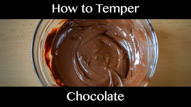 How to Temper Chocolate by Seeding - step by step procedure for perfect ...