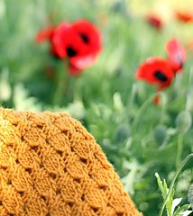 Acorn Doll Blanket by Joanna Johnson ~ FREE pattern but a most interesting stitch which can be used otherwise too