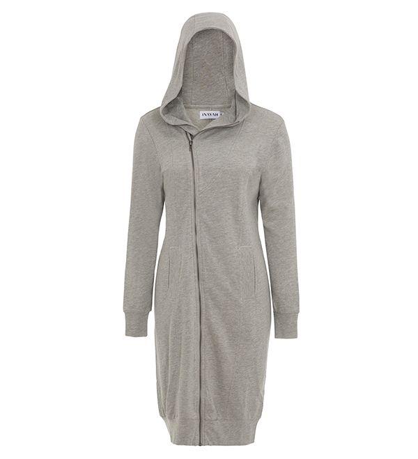 Long Grey Hoody - £39.99 : Inayah, Islamic Clothing & Fashion, Abayas, Jilbabs, Hijabs, Jalabiyas & Hijab Pins