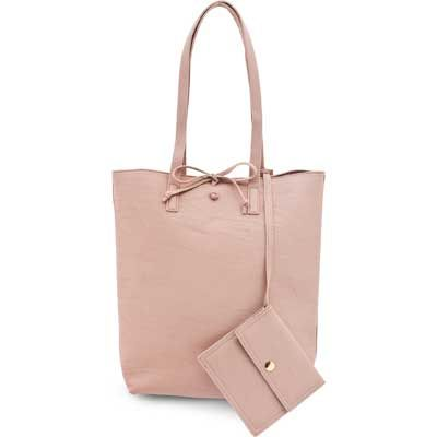 Dusty Pink Carry All Bag