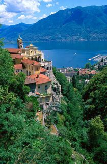 Locarno, Switzerland on beautiful Lake Maggiore. Our tips for 25 fun things to do in Switzerland: http://www.europealacarte.co.uk/blog/2012/02/13/what-to-do-in-switzerland/
