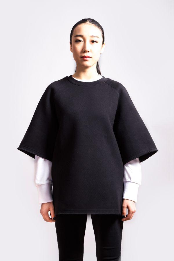 Camiseta Oversized Neopreno | Aeca White