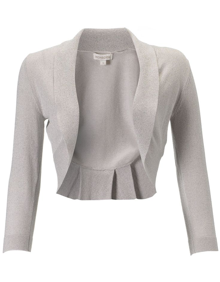 Blair Lurex Shrug | Silver | Monsoon £35 This is the coverup we have bought for the bridesmaids