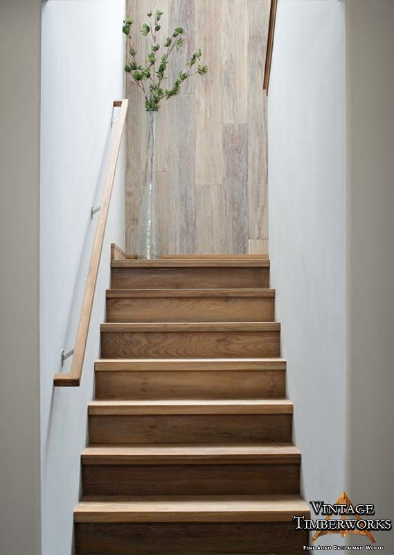 Best 9 Best Reclaimed Stair Treads Square Edge Images On 400 x 300