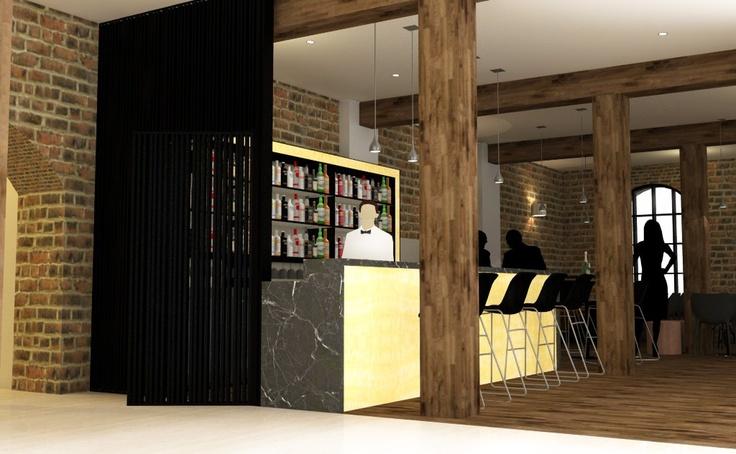 Bar concept for Boutique Hotel