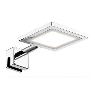 Eclairage miroir salle de bain LED IP44 Telline carré