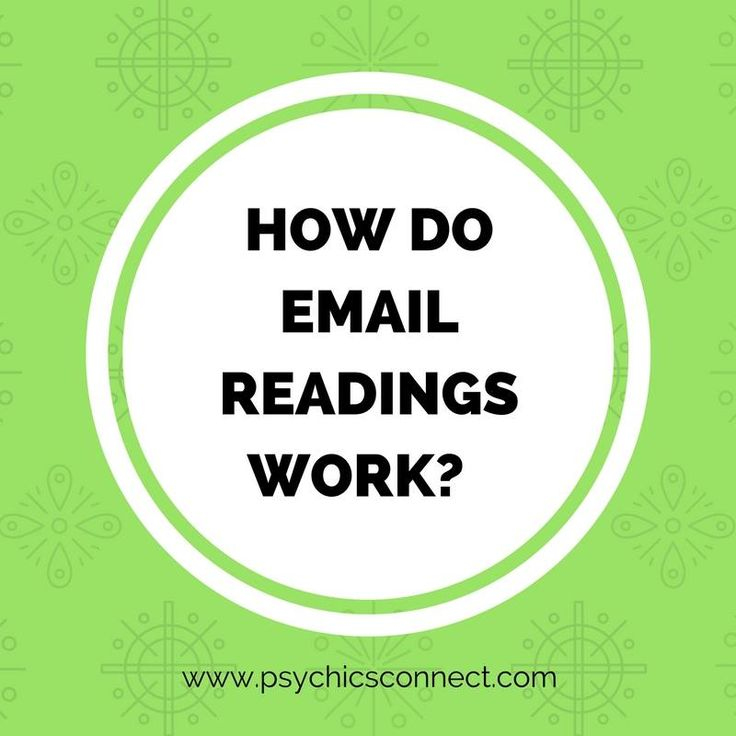 How do email readings work? How can the reader connect with the client?  A good #psychic starts tuning into someone as soon as they have a name, or know that they'll be doing a reading. It's a different way of working, a bit like absent healing, where the healer has only the name/health problem to go on. However it can be just as effective.
