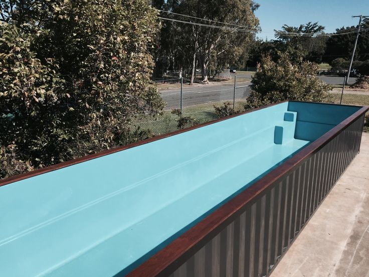 Pin By Contemporanium On Pools Container Pool Shipping Container Pool Shipping Container